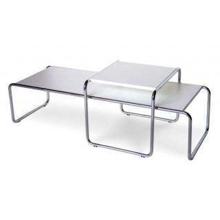 Tavolini Laccio laminato nero Marcel Breuer