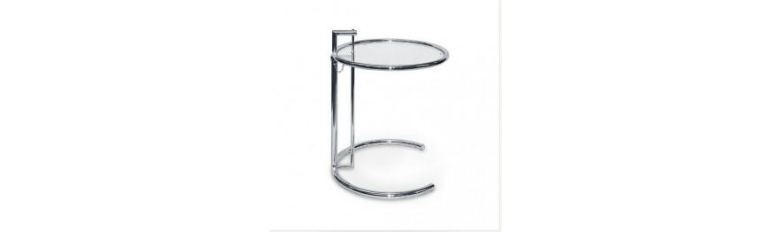 Tavolino da Fumo Eileen Gray metallo